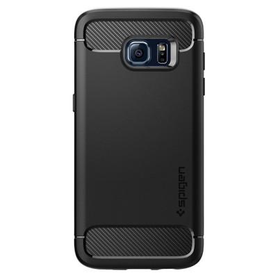 Spigen Rugged Armor Samsung Galaxy S7 Edge Zwart