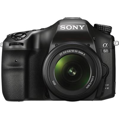 Image of Sony Alpha 68 Kit + SAL 18-55 II