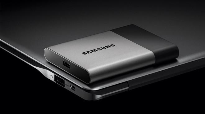 Snelle Samsung SSD T3