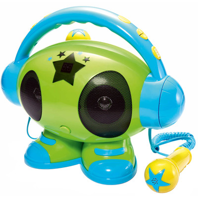Image of Bigben Karaoke Robot Groen