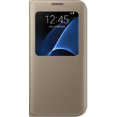 Samsung Galaxy S7 Edge S View Cover Goud