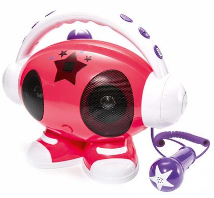 Bigben Karaoke Robot Roze