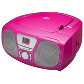 Bigben Draagbare Radio/CD-speler Roze