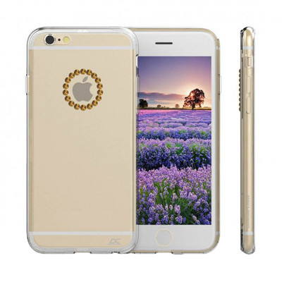 Image of Diamond Cover Elements Cyrcle iPhone 6/6s Goud
