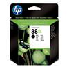 HP 88 Black XL Ink Cartridge Zwart (HPC9396A)