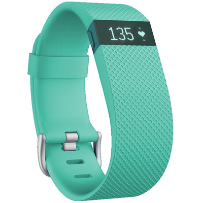 Image of Fitbit Charge HR activiteitsmeter - turqoise - large