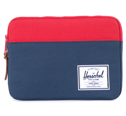 Herschel ANCHOR Laptoptas navy/red