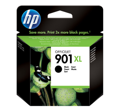 HP 901XL Cartridge Zwart (CC654AE)