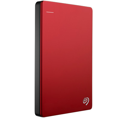 Seagate Backup Plus Slim 2 TB Rood