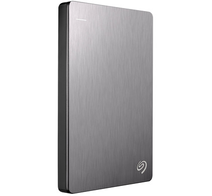 Seagate Backup Plus Slim 2 TB Zilver
