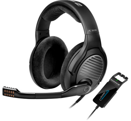Sennheiser PC 363D - Gaming headset - Zwart