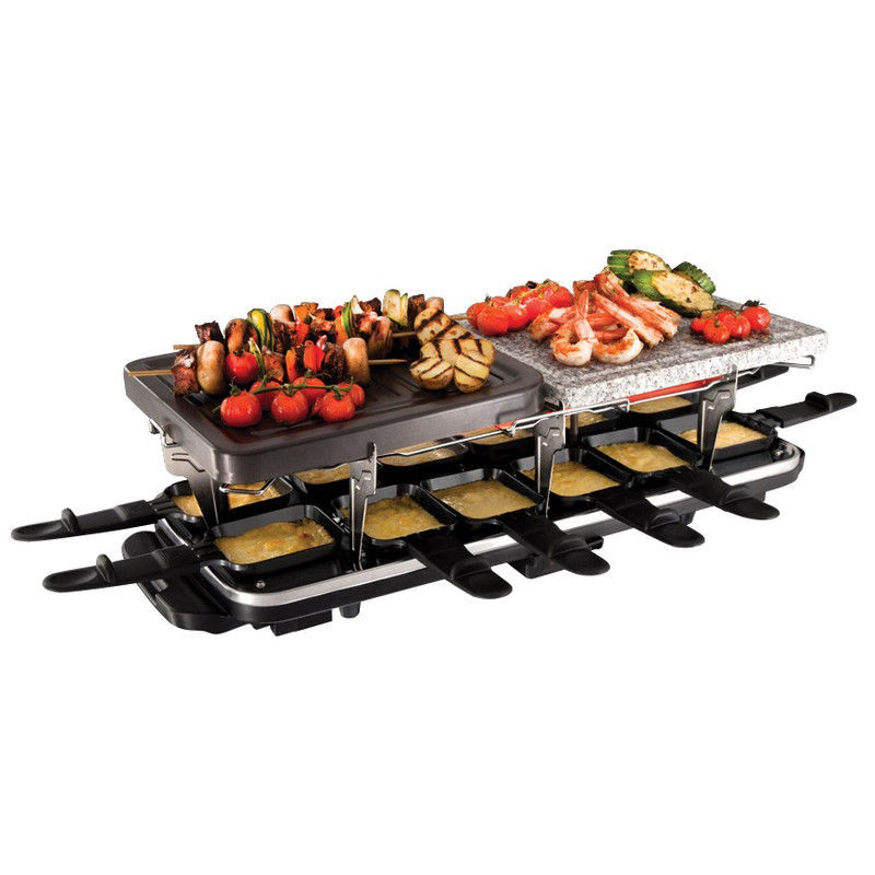 Russell Hobbs Classics raclette-steengrill-grillplaat