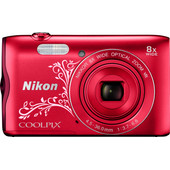Nikon Coolpix A300 Rood Ornament