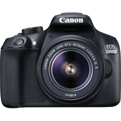 Image of Canon Camera Kit EOS 1300D 18.7 Megapixel, WiFi, NFC + 18-55mm IS II