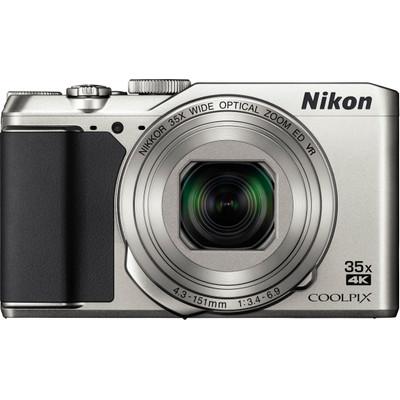 Image of Nikon A-900 Digitale camera 20 Mpix Zilver WiFi, Klapbaar display