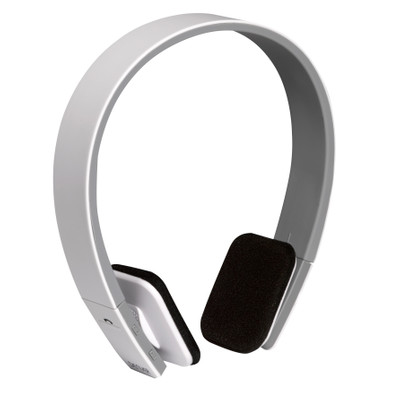 Image of BTH-204WHITE - Wireless Bluetooth headset (white) - Denver Electronics