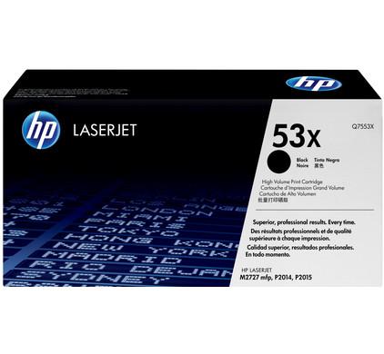 HP 53X LaserJet XL Toner Zwart (Q7553X)