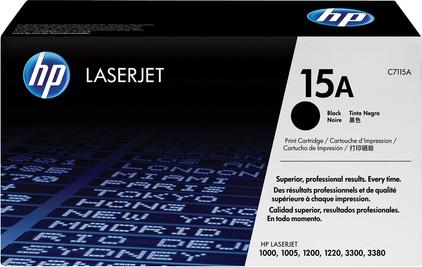 HP 15A LaserJet Toner Zwart (C7115A)