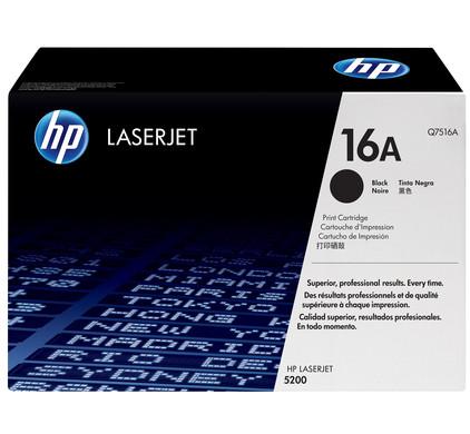 HP 16A LaserJet Toner Zwart (Q7516A)