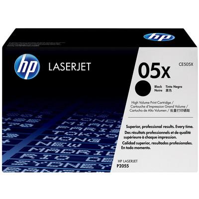 Image of 05X zwarte LaserJet tonercartridge (CE505X)