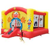 Happy Hop Super Clown Slide Bouncer