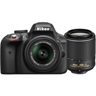 Nikon D3300 + AF-P 18-55 VR + 55-200 G ED VR II