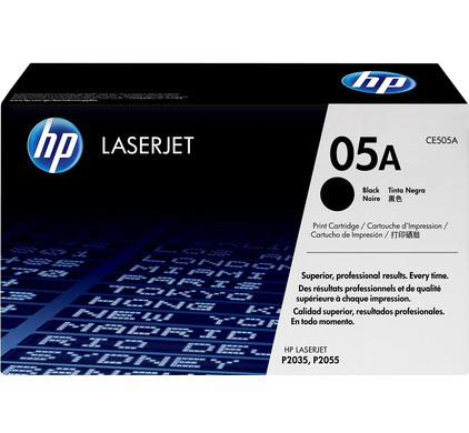 HP 05A LaserJet Toner Black (zwart) (CE505A)