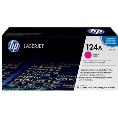 Image of 124A magenta LaserJet tonercartridge (Q6003A)