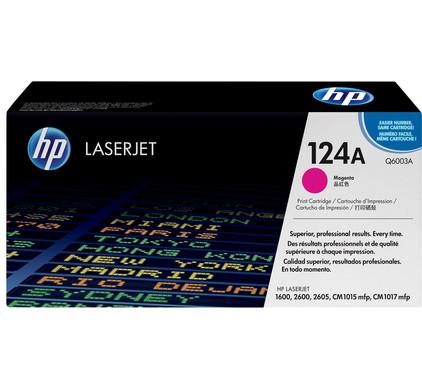 HP 124A LaserJet Toner Magenta (Q6003A)