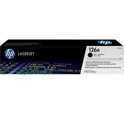 HP 126A Black LaserJet Toner (zwart) (CE310A)