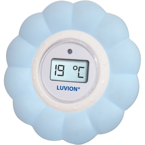 Luvion Bad- & Kamerthermometer blauw