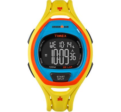 Timex Ironman Sleek 50 Color Block Yellow