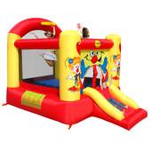 Happy Hop Clown Slide and Hoop Bouncer Large