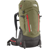 The North Face Terra 50 Mountain Moss/Pompeian Red - S/M