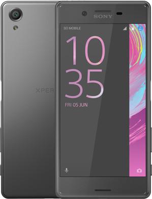 Sony Xperia X Zwart