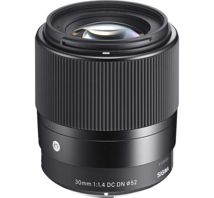 Sigma E 30mm F1.4 DC DN