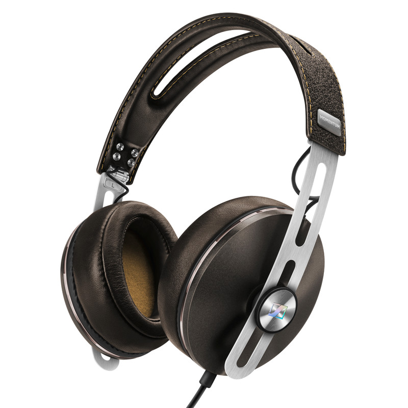 Sennheiser Momentum 2.0 Over-Ear Headphones Inc In-Line Remote & Mic (Apple) Brown