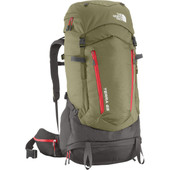 The North Face Terra 65 Mountain Moss/Pompeian Red - S/M