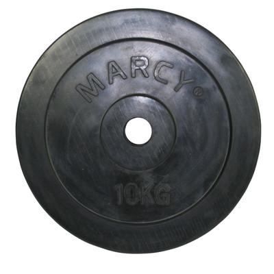 Marcy Halterschijven - 1 x 10 kg - Ø 30 mm