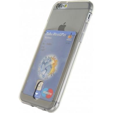 Xccess TPU Card Case Apple iPhone 6/6S Grijs