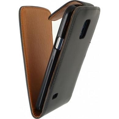 Xccess Flip Case Samsung Galaxy S5 Mini Zwart