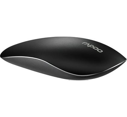 Rapoo T8 Draadloze Laser Touch Muis Zwart