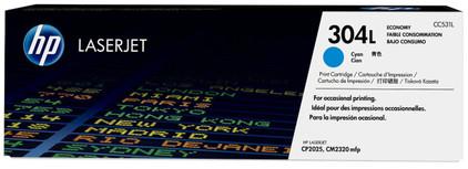 HP 304L Economy Toner Cyaan (CC531L)