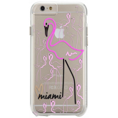 Image of Case-Mate Back Cover Apple iPhone 6/6s Miami Flamingo