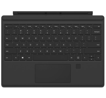 Microsoft Surface Pro Type Cover + Vingerafdruk ID Qwerty