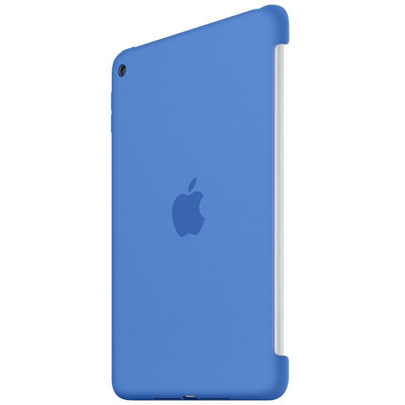 Apple iPad Mini 4 Siliconen Case Blauw