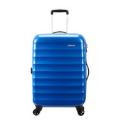 American Tourister PALM VALLEY SPINNER 67/24 BLUE SPARKLE