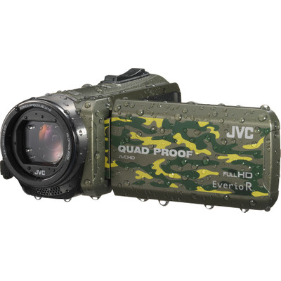 Image of JVC Everio GZ-R415 camouflage