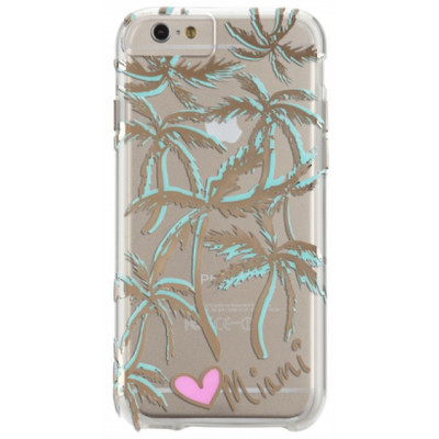 Image of Case-Mate Back Cover Apple iPhone 6/6s Miami Palm