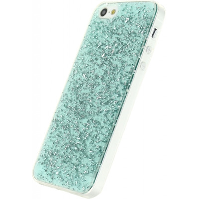Xccess Glitter TPU Case Apple iPhone 5/5S/SE Groen